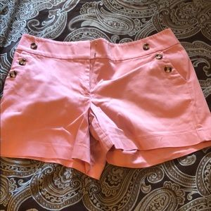 Cute pink shorts